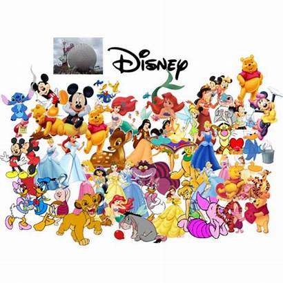 Disney Clipart Character Characters Vector Banner Library