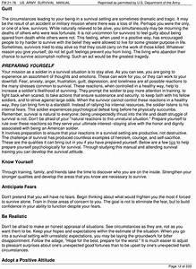 Us Army Survival Field Manual Fm 21