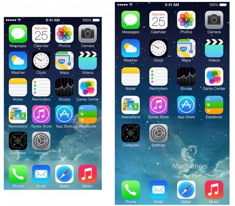 iphone 6 display display iphone 6 da 4 7 pollici ecco come sarebbero ios e