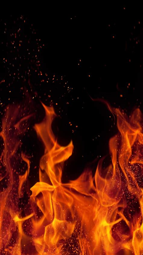 burning fire wallpaper