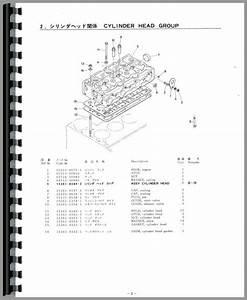 Kubota B6100e Tractor Parts Manual