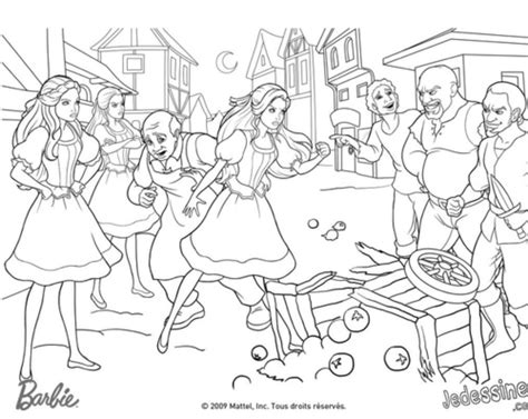 68 Coloring Pages Barbie And The Three Musketeers
