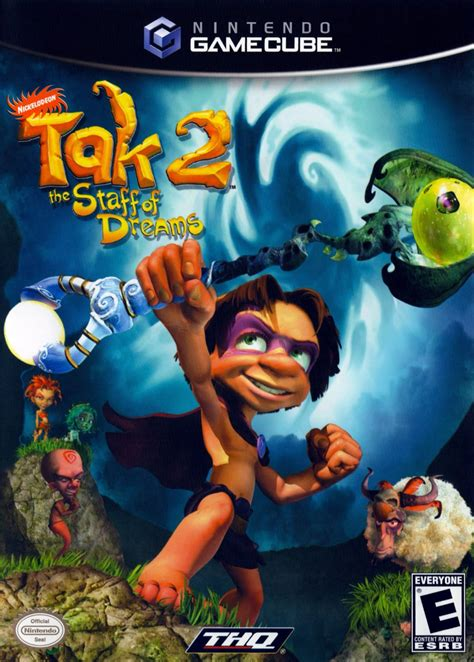 Tak 2 The Staff Of Dreams Gamecube Game