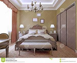 Neon Deco Chambre : art deco bedroom with ceiling neon lights stock photo image 59222276 ~ Teatrodelosmanantiales.com Idées de Décoration