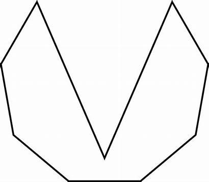 Nonagon Irregular Concave Clipart Nonagons Sides Etc
