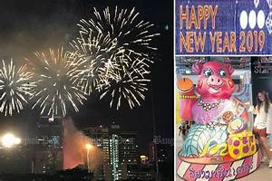 Thailand Welcomes 2019 With Countdown Parties  Fireworks