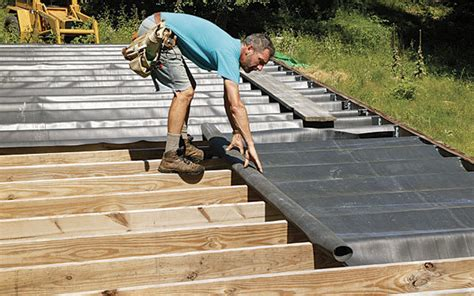 Sitebuilt Deck Drainage  Fine Homebuilding