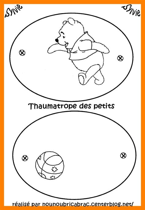 thaumatrope winnie l ourson 224 r 233 aliser