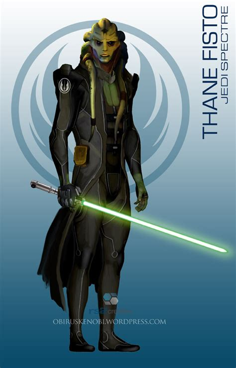 Starwars Masseffect Crossover Thane Fisto By Rs2studios On