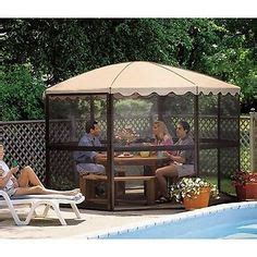 screen tents for decks 1000 images about summertime gazebo time on