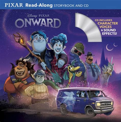 onward read  storybook  cd  disney book group