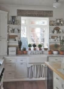 kitchen idea 35 cozy and chic farmhouse kitchen décor ideas digsdigs