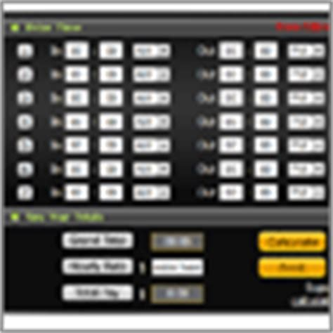 timecard hours time clock calculator employee timeclock calculator online