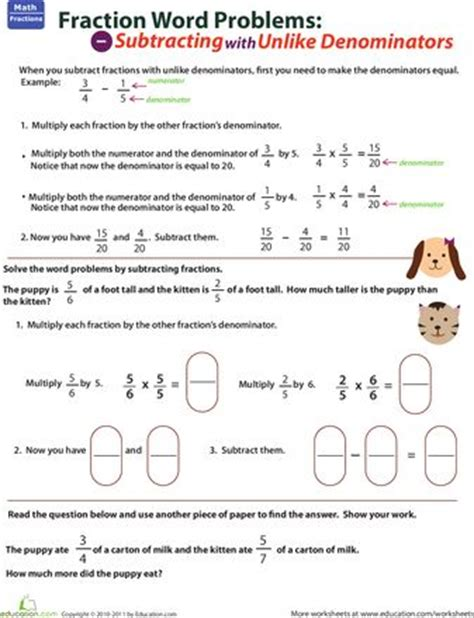 91 best images about fractions on student