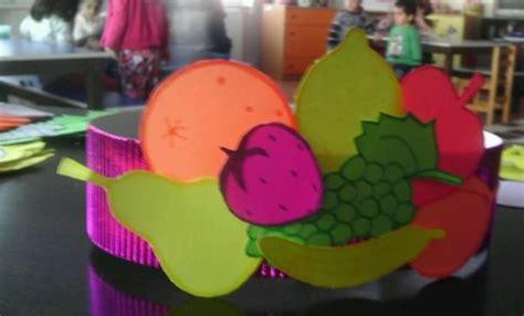 fruit hat craft fruit vegetable craft pinterest crafts fruit  hats