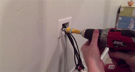 hide tv wires   diy nils