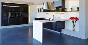 plan de travail en quartz silestoner pour cuisine et salle With salle de bain design avec evier cuisine pierre reconstituée