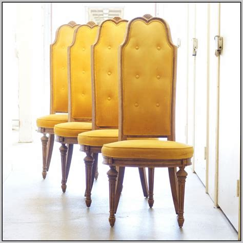 yellow leather dining room chairs chairs home