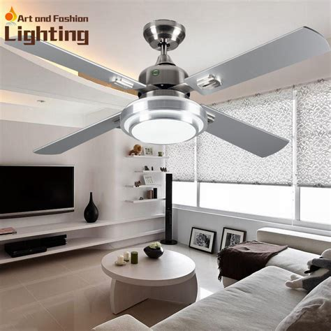 living room ceiling light fan super quiet ceiling fan lights large 52 inches modern