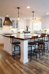 19, Must-see, Practical, Kitchen, Island, Designs, With, Seating