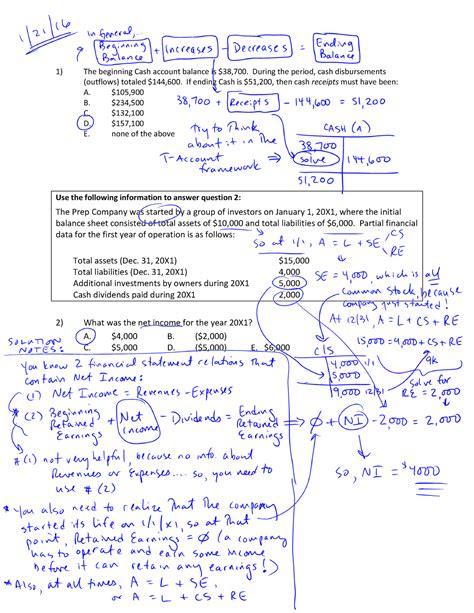 practice set solutions act  financial accounting
