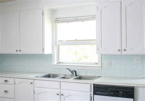 The Cheapest Diy Backsplash Ever-lovely Etc