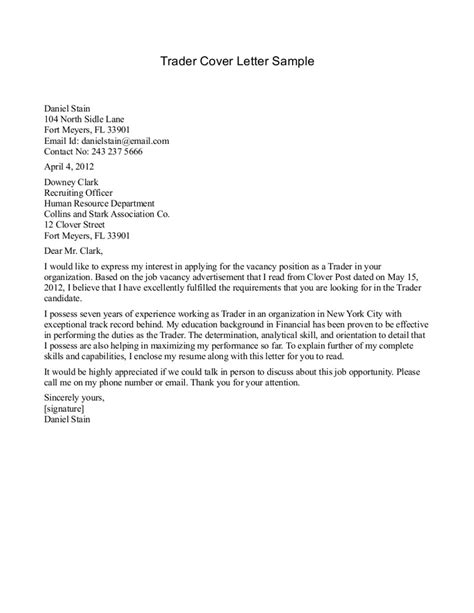 best cover letter template best cover letters exles best letter sle