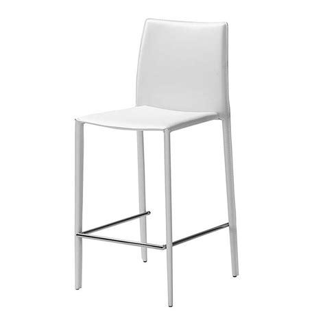 chaise pour plan de travail lot de 2 chaises plan de travail blanche kosyform