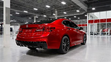 hand assembled  acura tlx pmc edition price reflects