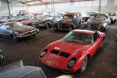 Barn French Classic Finds Cars Rare Miura