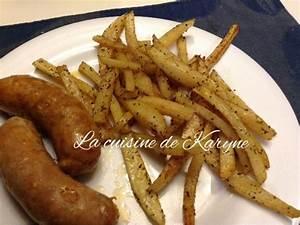 Frites à La Friteuse : la cuisine de karyne frites maison sans friteuse ~ Medecine-chirurgie-esthetiques.com Avis de Voitures