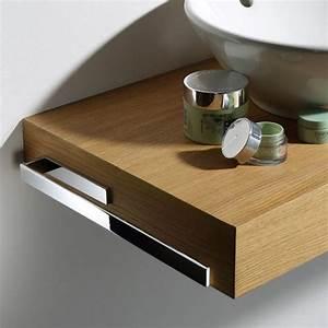 Waschbecken Mit Holzplatte : waschtischplatte mit schublade g ste wc ~ Michelbontemps.com Haus und Dekorationen