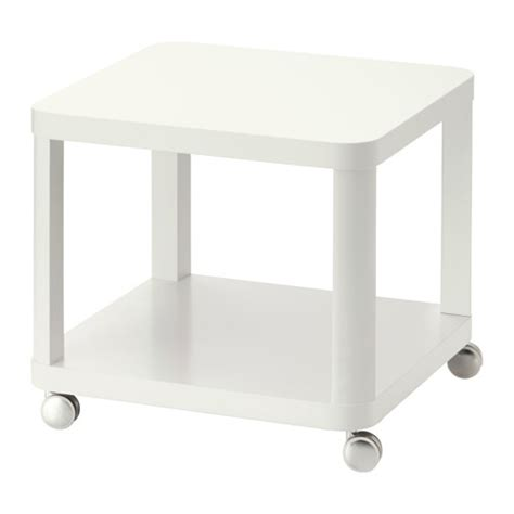 table with wheels ikea tingby side table on casters white ikea