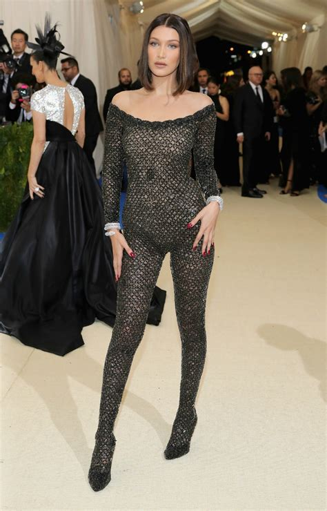 bella hadid wears  naked dress  cannes   sheer  entertainment tonight