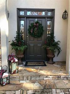 Out, Of, Box, Front, Porch, Christmas, Decor, Ideas