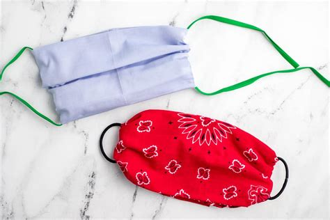 sew face mask   home materials
