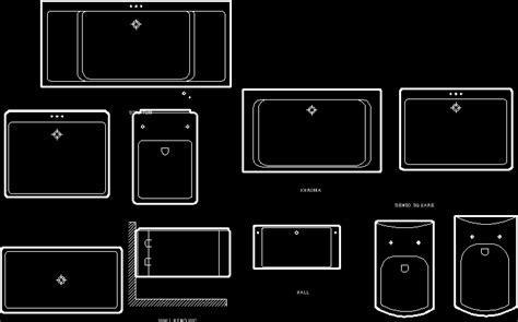 Wash basin in AutoCAD   Download CAD free (77.42 KB