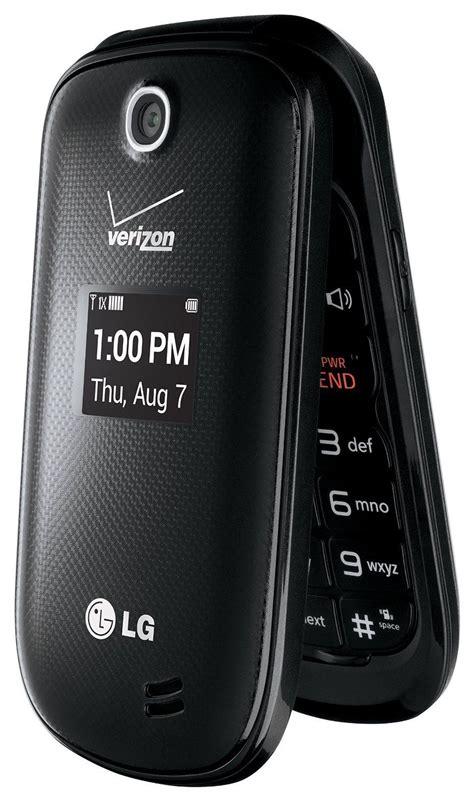 new lg revere 3 lg vn170 verizon black flip phone