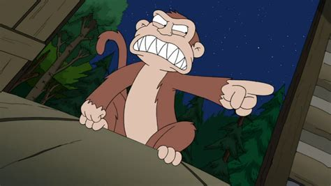 Family Monkey In The Closet by Evil Monkey The Cleveland Show Wiki Fandom Powered By