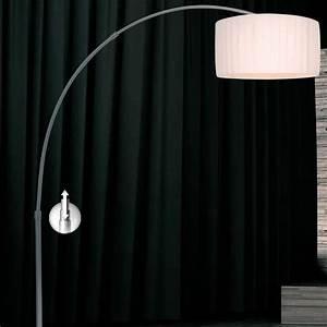 Stehlampe Mit Weißem Schirm : stehlampe david pompa design stehleuchte bogenleuchte lampen leuchten neu ebay ~ Bigdaddyawards.com Haus und Dekorationen