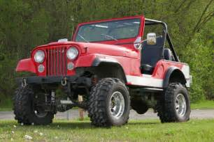 stock jeep vs lifted 1980 jeep cj5 lifted 4wd great summer cruiser from