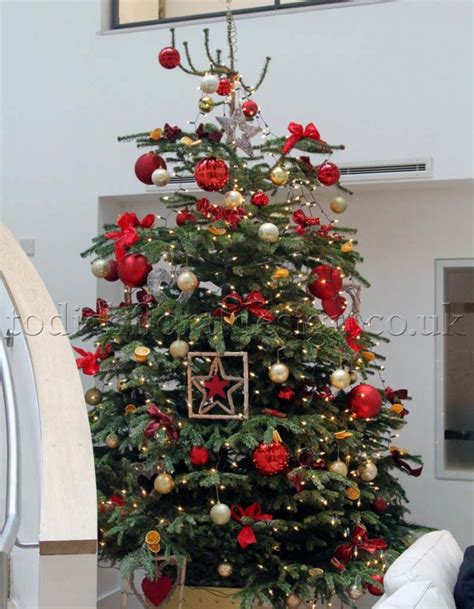 decorated christmas tree delivery london uk