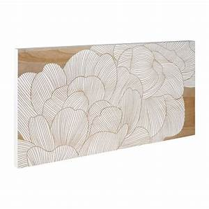 camelia camelia flower carved wall de habitat With decoration murale bois sculpte