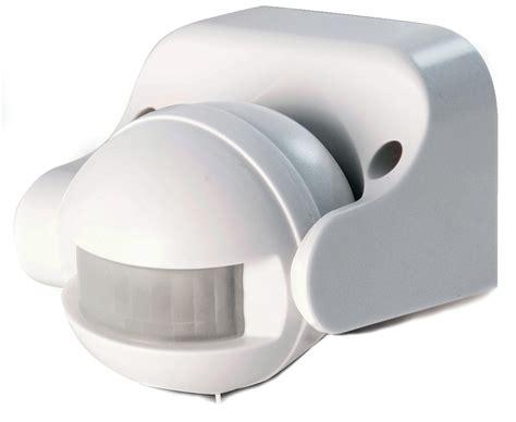 detecteur de mouvement exterieur eclairage d 233 tecteur de mouvement int 233 rieur et ext 233 rieur ext 233 rieur blanc scs la boutique