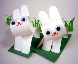 Construction-Paper Bunny Craft