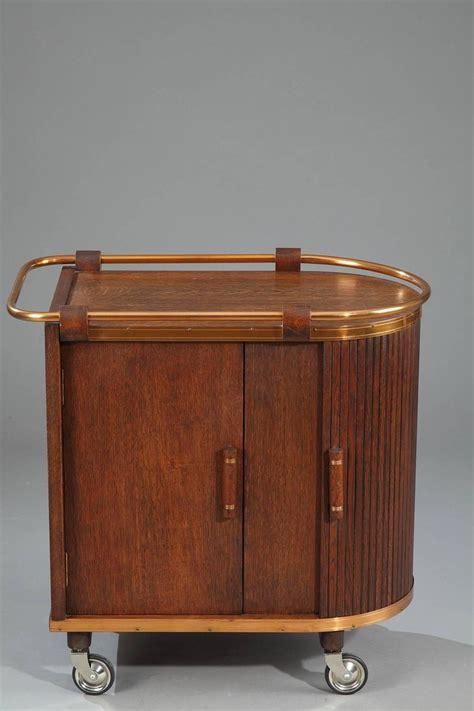 bar cart with doors mid century oak bar cart with sliding doors for at 2046