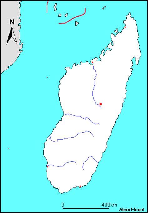 Madagaskar Kostenlose Karten, kostenlose stumme Karte ...