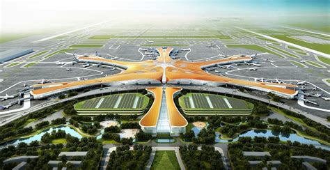 Neuer Flughafen Peking by Airport Construction And Expansions To Cope With Capacity