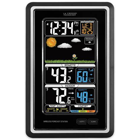 wireless color weather station la crosse technology wireless color weather station