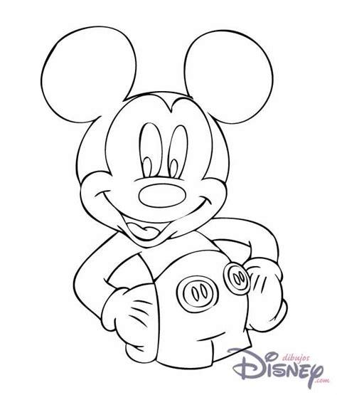 Fotos de Mickey Mouse para pintar Colorear imágenes